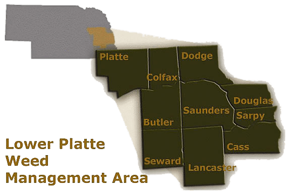 Lower Platte map
